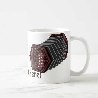 Anglo Concertina Coffee Mug