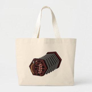 Anglo Concertina Jumbo Tote Bag
