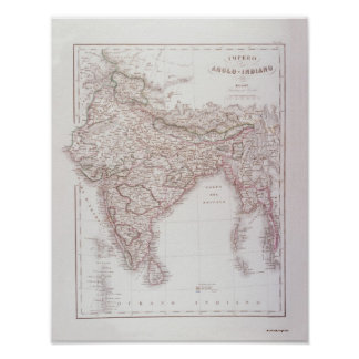 Anglo-Indian Empire Poster