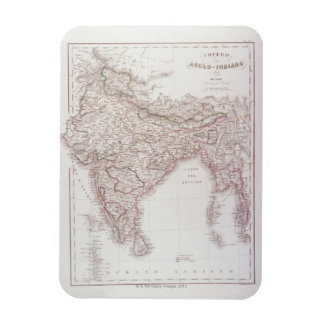 Anglo-Indian Empire Rectangular Photo Magnet
