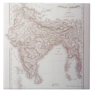 Anglo-Indian Empire Tile