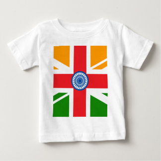 Anglo Indian Flag Baby T-Shirt