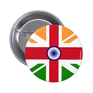 Anglo Indian Indentity, India 6 Cm Round Badge