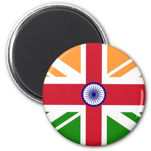 Anglo Indian Indentity, India Refrigerator Magnets