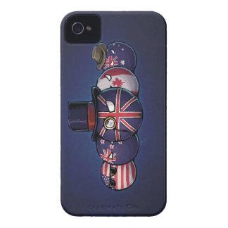 Anglo-Saxon Countryballs iPhone 4 Case
