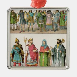 Anglo-Saxon Dress Christmas Ornament