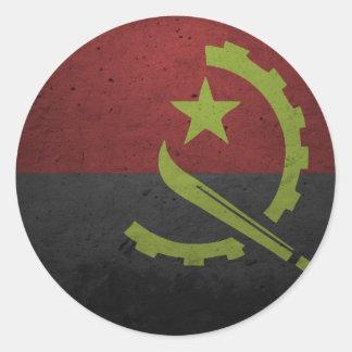 Angola Adesivo Redondo
