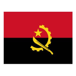Angola - Angolan Flag Postcard