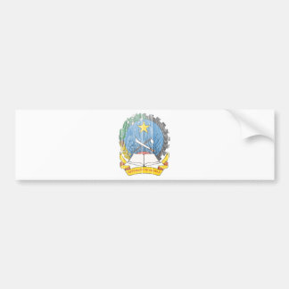 Angola Coat Of Arms Bumper Stickers
