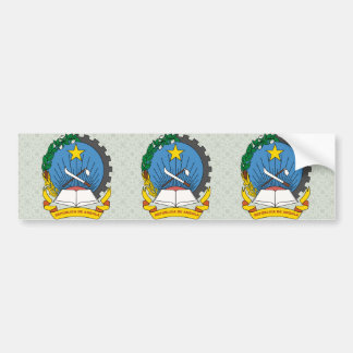 Angola Coat of Arms detail Bumper Stickers