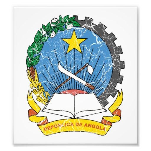 Angola Coat Of Arms Photo Art