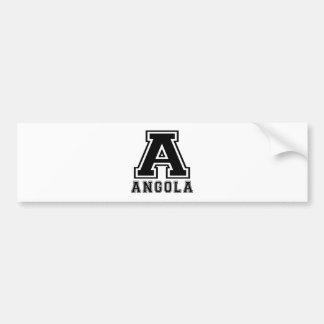 Angola Designs Bumper Sticker