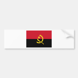 Angola flag AO Bumper Sticker