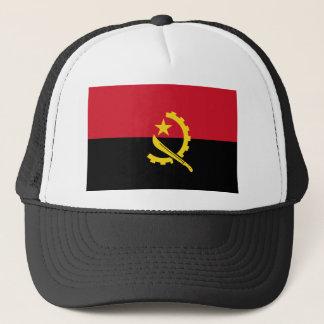 Angola flag AO Trucker Hat