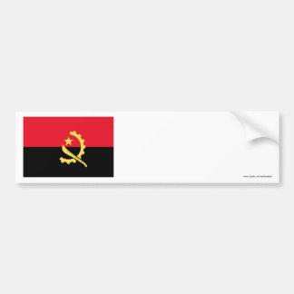 Angola Flag Bumper Stickers