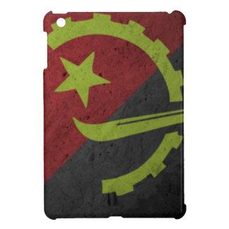 Angola Flag Grunge Cover For The iPad Mini