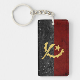 Angola Flag Key Chain Souvenir