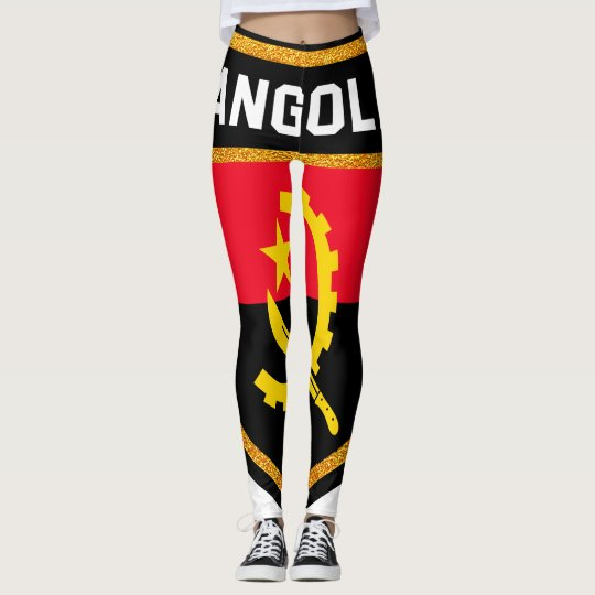 Angola Flag Leggings