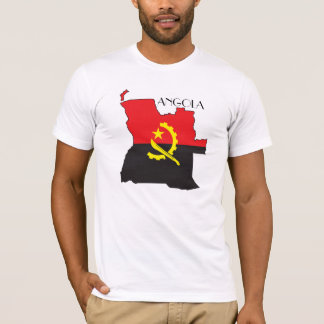 Angola Flag-Map Shirt