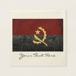 Angola Flag Party Napkins Disposable Napkin
