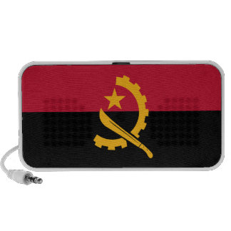 Angola flag, portable speaker from OrigAudio