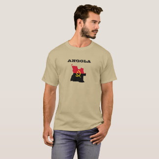 Angola Map Flag Shirt