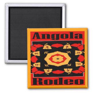 Angola Rodeo Poster Fridge Magnet