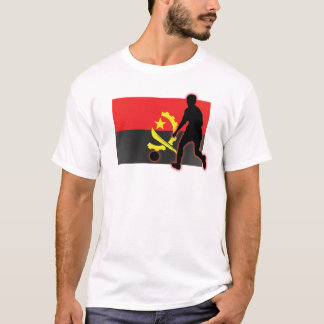 Angola Soccer Player T-Shirt