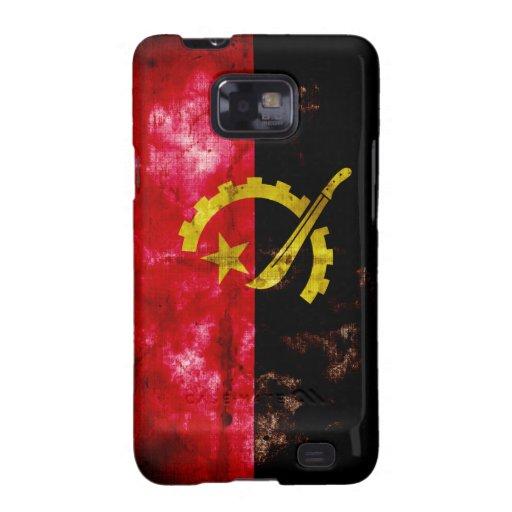 Angolan Flag Galaxy SII Covers