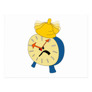 Angry Alarm Clock Post Cards