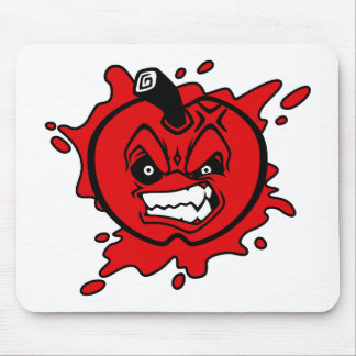 Angry Apple Mouse Pad