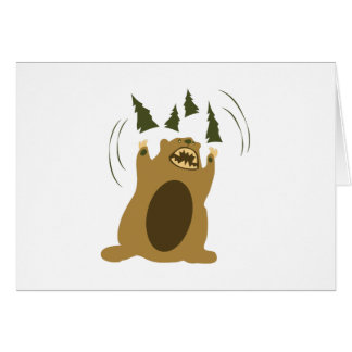 Angry Bear Cards