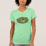 angry beaver face tee shirt