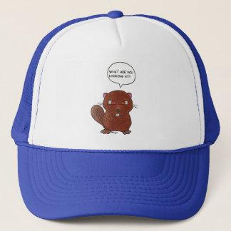 Angry Beaver Trucker Hat