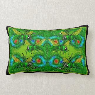 Angry Bees Lumbar Cushion