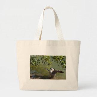 Angry Bird 3 Large Tote Bag