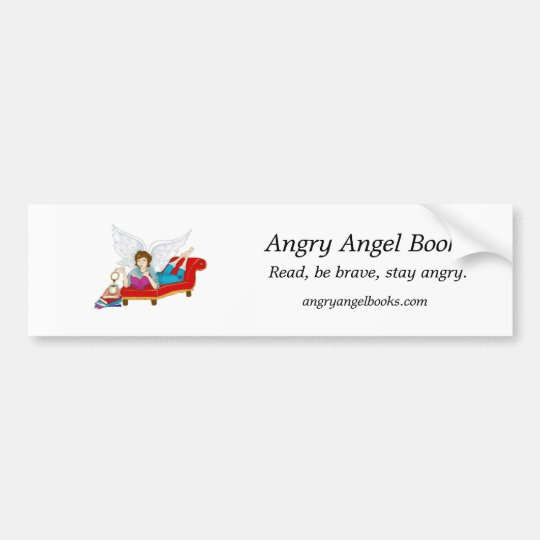 Angry Bookmark Sticker Combo
