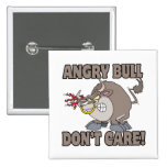 angry bull dont care funny cartoon parody