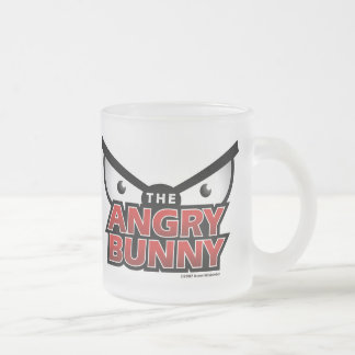 Angry Bunny Abstract Logo Mug