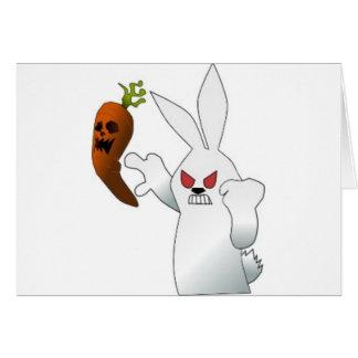 Angry Bunny Card