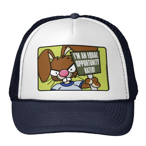 Angry Bunny Hater Hat