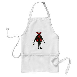 Angry butcher apron