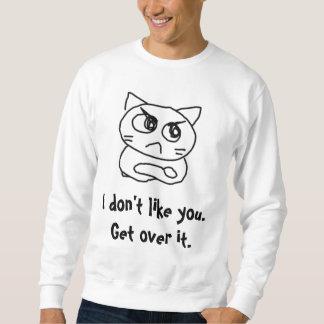 Angry cat #879345 sweatshirt
