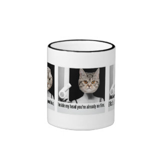 Angry cat mug to threaten people you don't like