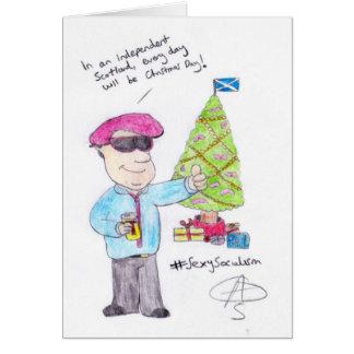 Angry Christmas Greeting Card