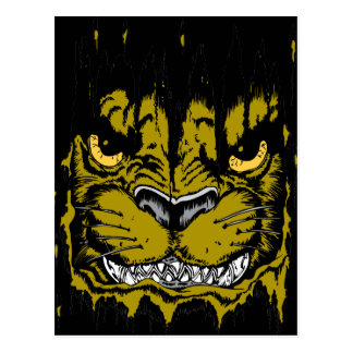 Angry Cougar Postcard
