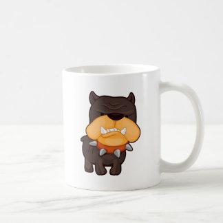 Angry Dog Classic White Coffee Mug
