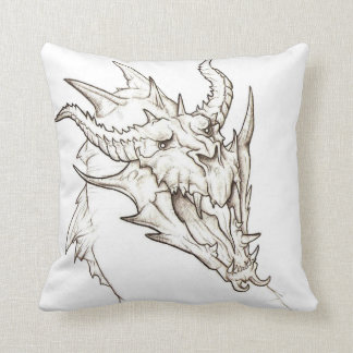 Angry Dragon Cushion