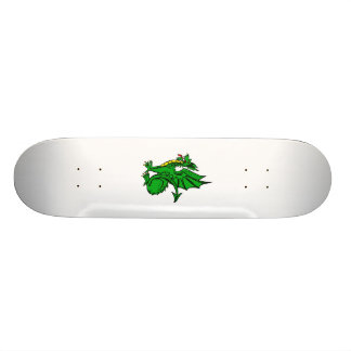 Angry Dragon Green Skateboards