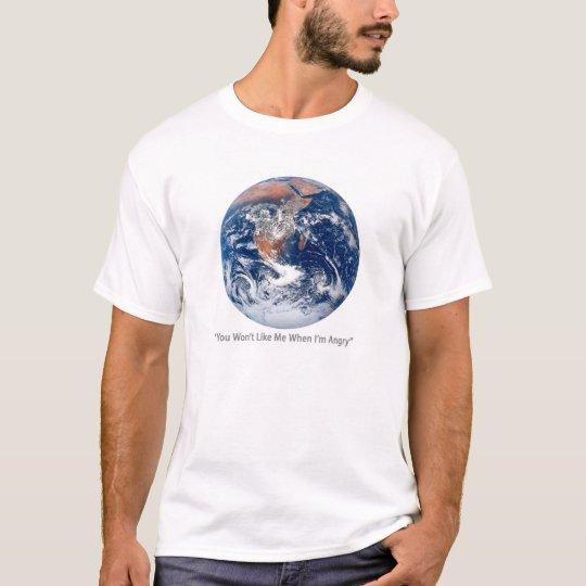 Angry Earth T-shirt
